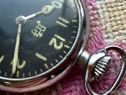 Jp Army Hyakushiki Flying Watch Oh Completed Manual Winding Pocket Watch Japan