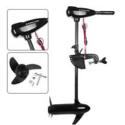 85lb Electric Troller Motor Mounting Fish Boat Marine Outboard Propeller Engine