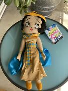 """Betty Boop 15"""" Plush World Traveler Collection Egypt 2011 Sugarloaf Nwt New"""