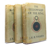 J. R. R Tolkien Lord Of The Rings Fellowship Of Ring Two Towers 1st Return King