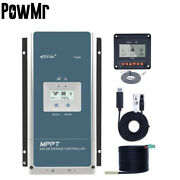 Epever 100a Mppt Solar Charge Controller 12/24/36/48v Max Pv150v With Mt50