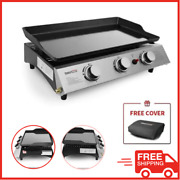 Table Top Hibachi Griddle Portable Flat Top Grill Outdoor Cooking Bbq Food Truck