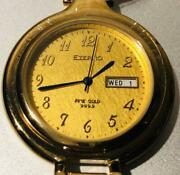 Pure Gold Eterno Pocket Watch Fine 999.9 Working Products