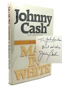 Johnny Cash Man In White Signed 1st 1st Edition 1st Printing