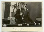 Gagarin Signed Photo Autograph Signature Soviet First Man In Space Ussr 1961
