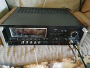 Vintage Mcintosh Mac 4300v Stereo Fm Am Phono Receiver For Repair Or Part