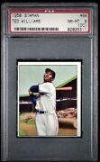 1950 Bowman Ted Williams Psa 8 - Only 15 Higher