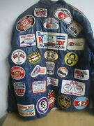 Vintage Racing Jacket 35 + Patches All Vintage Some Rare Wow