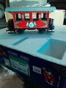 Christmas In July, Lgb 21540 Christmas Train Coach. One Coach . All Red