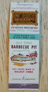Matchbook Emil Villa's Barbecue Pit Hick'ry Hickory Oakland Hayward San Leandro