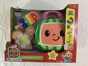 New Cocomelon 15 Piece Lunchbox Playset Stack Sort And Learn Counting Toy Set