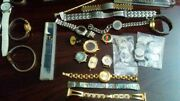 Assorted Watches Vintage Collectible Modern Parts And Supplies