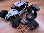 Used Losi 1/10 Lasernut U4 4wd With Two 4s 100c Spectrum Batteries And Charger