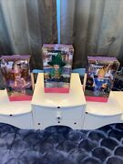 The Wizard Of Oz Barbie- Kelly Tommy Munchkin Lot Of 3 Mayor Lollipop And Lullaby