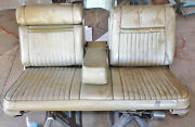 1967 Lincoln Continental Front 6-way Bench Seat W Rh Recliner And Power Headrest
