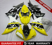 Abs Fairing Kit Fits For Yamaha Yzf R1 2009-2014 Motorcycle Body Work Set Yellow