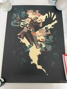 Ultra Rare Last Of Us Swarmed Signed Licensed Limited Screen Print Sold Out