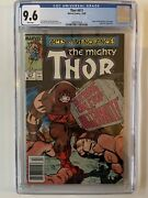Thor 411 Marvel 12/89 Cgc 9.6 Nm+ 1st Appearance New Warriiors Key
