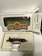 Bachmann N Scale 75174 Old Timers Central Pacific Red Flat Car