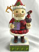 Jim Shore Christmas Figure Not A Mouse Was Stirring 4037593 Collectible 2013