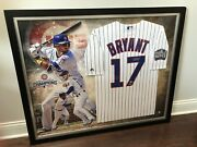 Fanatics Chicago Cubs Kris Bryant 2016 World Series Jersey Signed In Frame Coa