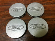 Ford Products 1991 - 2002 2 Set Of Four Center Caps Silver F3cc-1a096-aa
