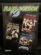 Flash Gordon Dvd Box Set Space Soldiers/trip To Mars/conquers The Universe, New