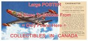 Lockheed F.80 Shooting Star 1958 Jet = Poster Trading Card 10 Sizes 34 - 7.4 Ft