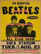 The Beatles 1966 Concert Shea Stadium All Star Show = Poster 10 Sizes 17-4.5 Ft
