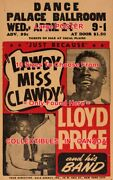 Lloyd Price 1957 Lawdy Miss Clawdy Louisville =concert Poster 10 Sizes 17-5.5ft