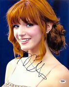 Bella Thorne Autograph Hand Signed 11x14 Photo Psa/dna Certified The Duff