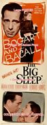 The Big Sleep 1946 H. Bogart And L. Bacall = Poster 3 Sizes 6ft / 9ft / 10.5ft