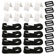 Ponwec 24pcs Pool Solar Cover Reel Attachment Straps Kit For In Ground...