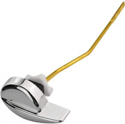 Jmkcoz Angle Fitting Side Mount Toilet Flush Lever 21 Cm/ 8.3inch, silver