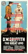 Great Love 1918 Gish Red Cross Nurse =poster 3sizes 4 / 6 / 7 Feet Buy2 Get1free