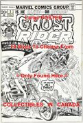 Ghost Rider 1973 3 Dawson Motorcycle=poster Comic Book Artwork 10sizes17-5.5ft