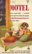 The Motel 1961 Sexy Pulp Bed Nylons = Poster Paperback 8 Sizes 17 - 3 Feet