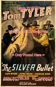 Silver Bullet 1935 Tom Tyler Cowboy Western = Movie Poster 10 Sizes 17 - 64
