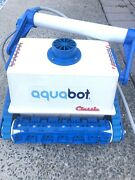 Aquabot Classic Pool Cleaner Vacuum 2 Power Supplies Robot For Parts Only Inop