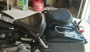 Shovelhead Seats Off Of 1978 Flh. Front Solo Seat And Passenger Seat