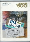 Indianapolis Indy 500 Official Program 67th Running 1983 Racing Magazine Tickets