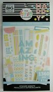 Happy Plans Sticker Book The Happy Planner 1360 Pieces New