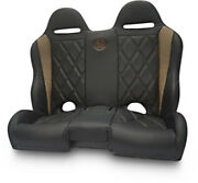 Bs Sand - Pebecbbdr - Performance Front/rear Bench Seat Diamond - Black/cruiser