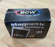 Buyitup 20x Bcw Brand 35pt Magnetic One Touch Card Holders 35 Pt. 1 Box 35 Point