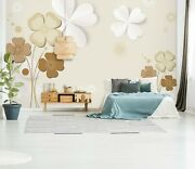3d Wood Flower Zhu5782 Wallpaper Wall Mural Removable Self-adhesive Zoe