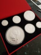 Australian 999 Solid Silver 2017 Year Of The Rooster Coin Set