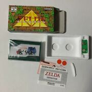 Game Watch Zelda Nintendo Things At The Time Two Screens