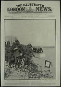 Wwi Moroccan Division Of French Army Huningue Alsace 1918 1 Page Photo Article