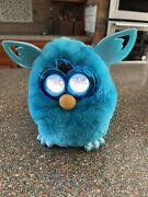 2012 Furby Boom Edition Teal Blue Electronic Interactive Doll Toy Tested