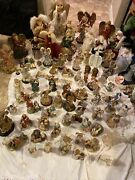 Around 90 Angel And Some Jesus Figurines All Kinds And Types And Size